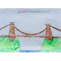 Charlie's fabulous suspension bridge
