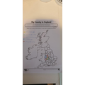 Jacks' fab geography work!