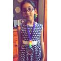 Gurleen's medal
