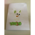 Nell's Easter card.