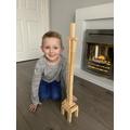 Elijah's Eiffel Tower