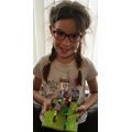 ...And what a beautiful lego model Julia!