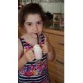 Mia's creamy Mocktail