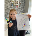 Esme's fab geography map