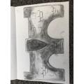 Isla's detailed sketch of her bridge