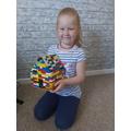 Isla's lego house