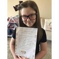 Evie's nonsense poem
