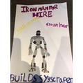 Poppy's Iron Man poster