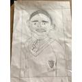 Jacob's portrait. Loving the uniform!