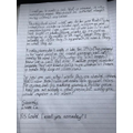 Isaac's letter continued...