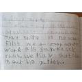 Jacob's diary entry