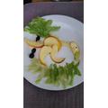 Fruity fun by Alfie!