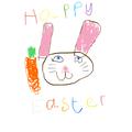 Elijah's Easter card.