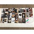 Poppy's alphabet art