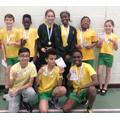 Sports Hall Athletics 1st Place Team