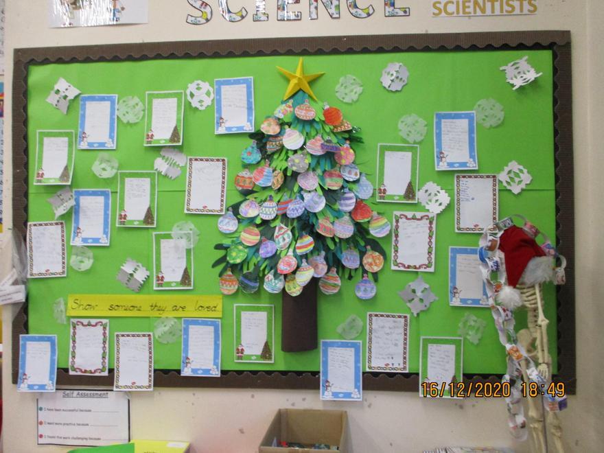 Class Christmas messages