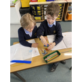 ructions for building a lego model