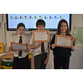 Bronze award winners! (Reading challenge)