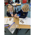 writing a set of instructions for building a lego model
