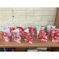 Printed Cards from Year 6