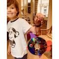 Daniel's CD fish