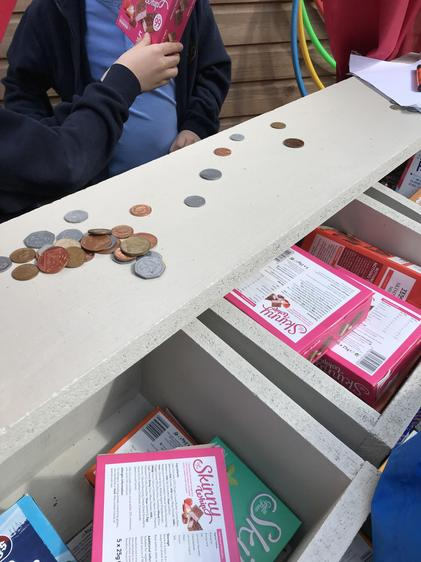Paying and giving change