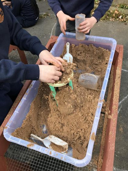 Learning at the Sand Table
