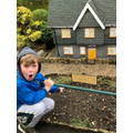 Sebby finds a miniature St Michael's School!