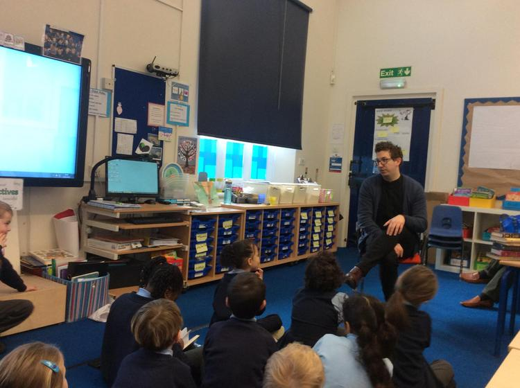 We welcomed the Rabbi from the Masorti Synagogue