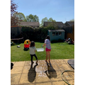 Sienna's outdoor learning