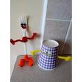 Conor's mug and fork people