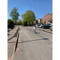 Sienna learns to ride her bike!