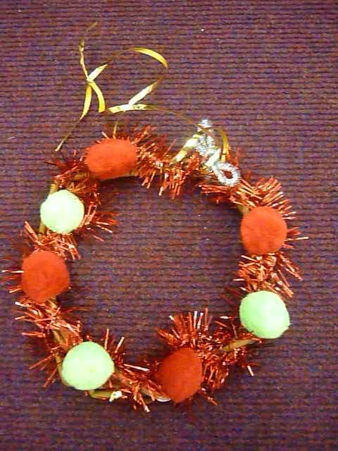Willow christmas wreath