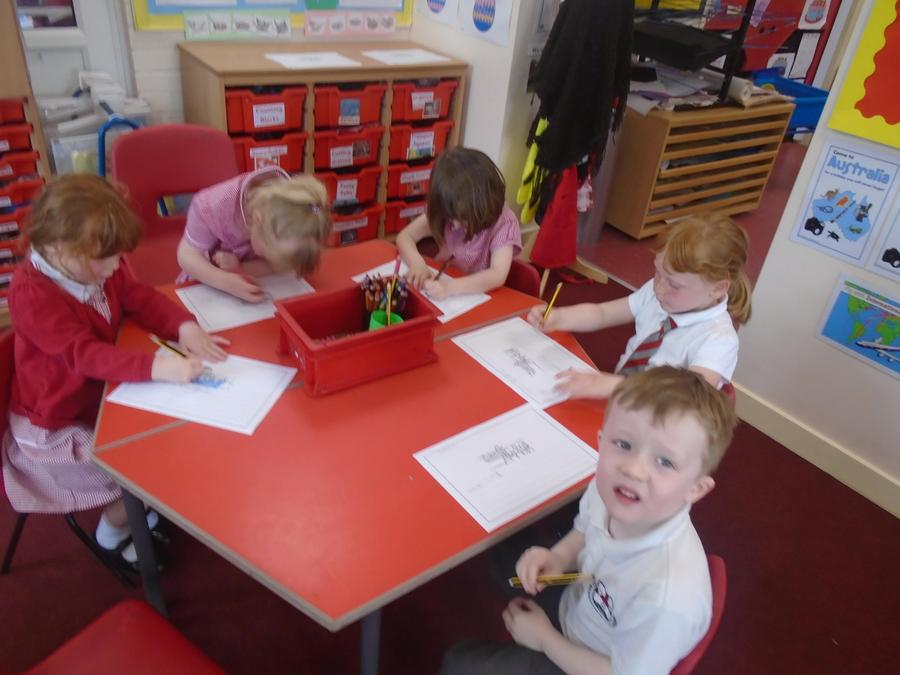 """Writing a sentence about """"The loaves and fish"""""""