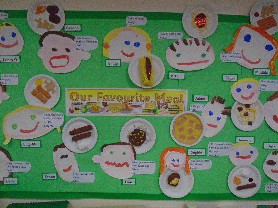 Our favourite food