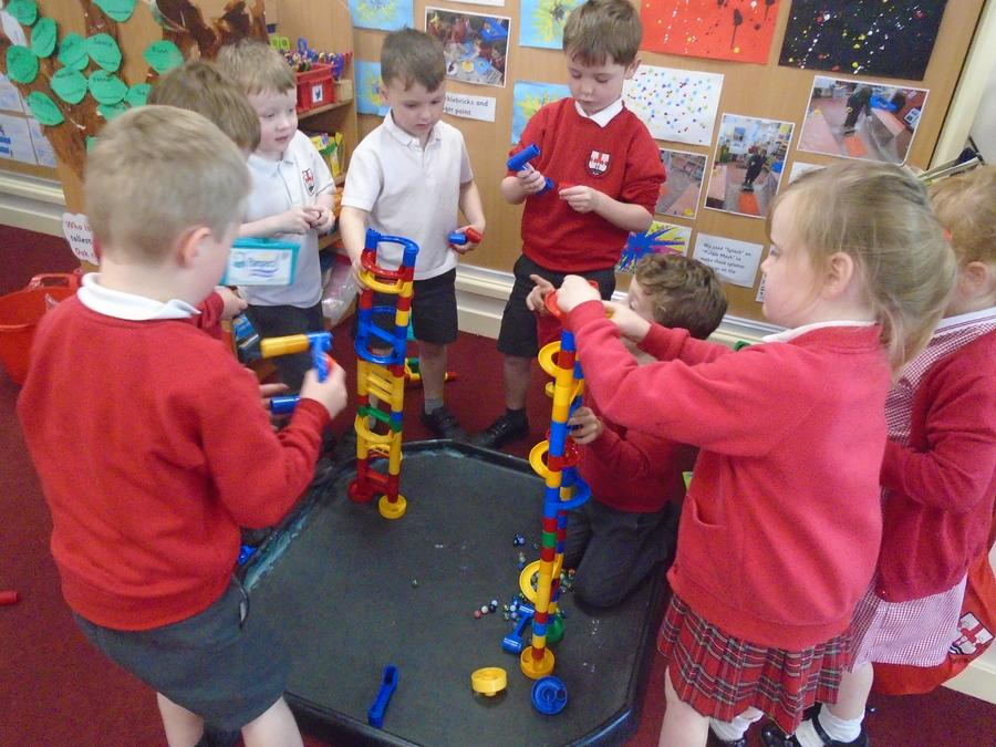 Building the marble run