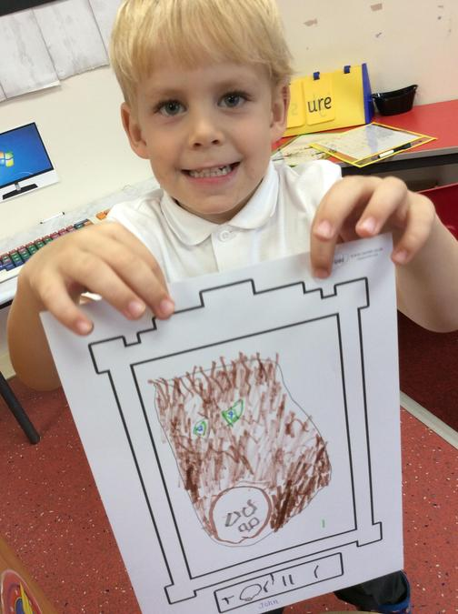 We learnt about Picasso and created our own self portraits.