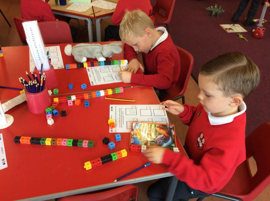 Measuring items using non-standard measures