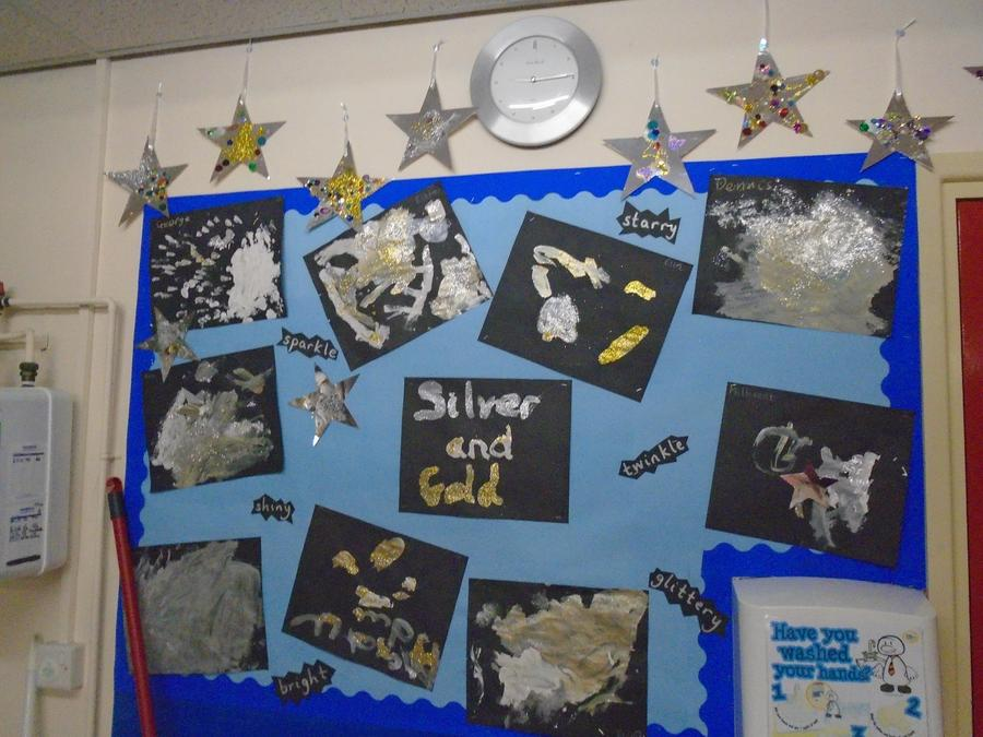 Our silver and gold paintings
