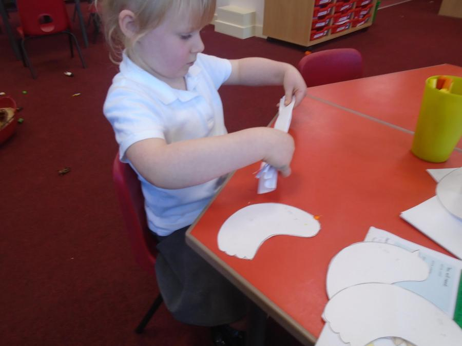Making doves