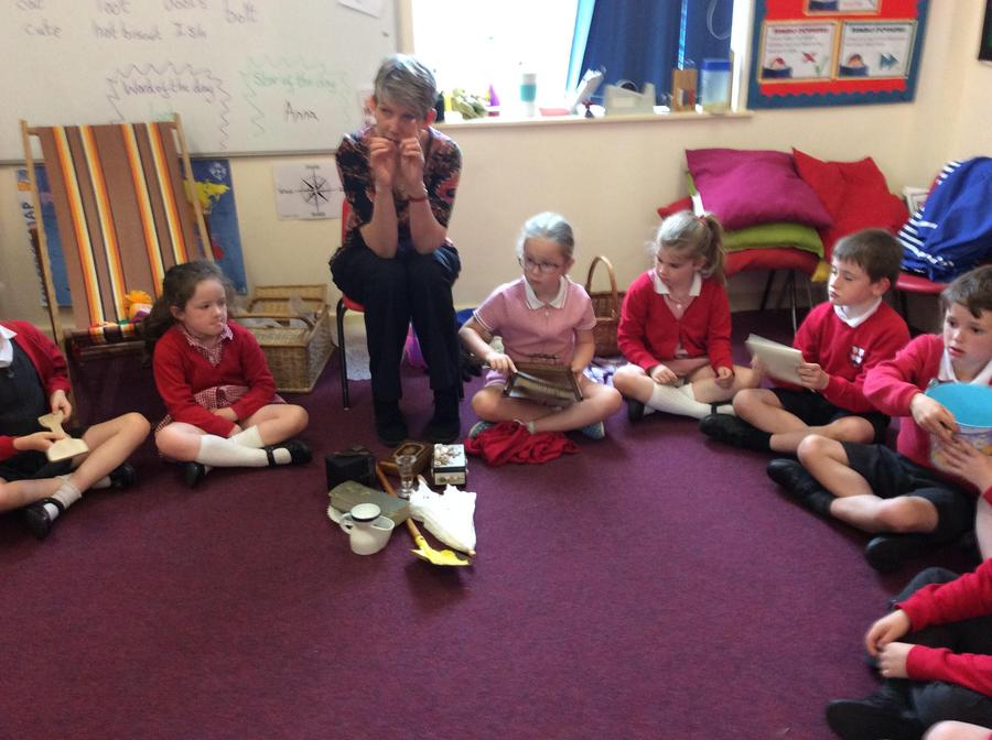 Looking at different artefacts...