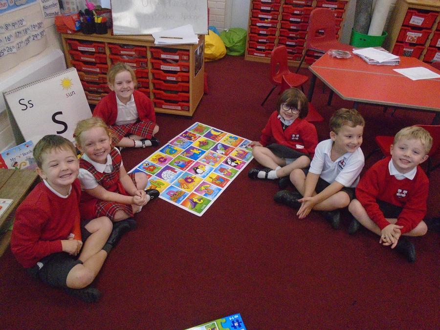 abc jigsaw - we can sing the alphabet