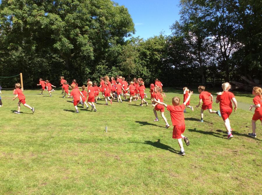 Red team celebrate!