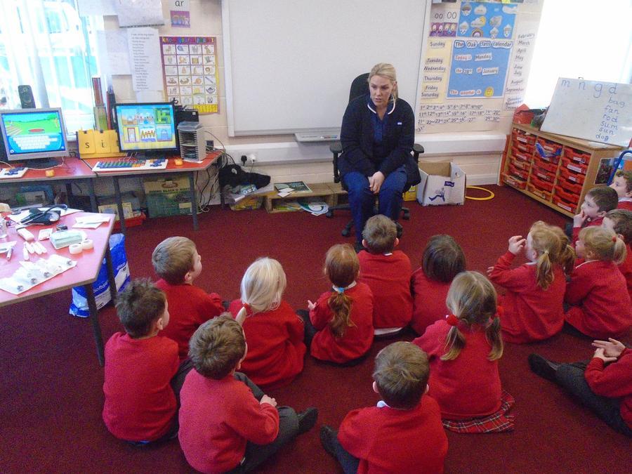 Mrs Benyon tells us about being a nurse