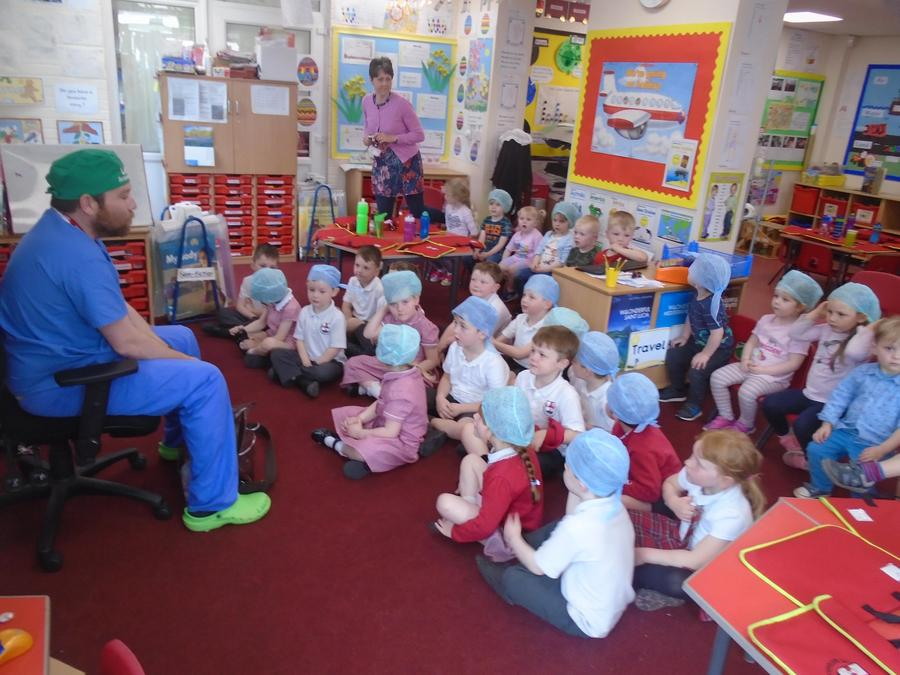 Dr O'Neill talks about his job as an anaesthetist