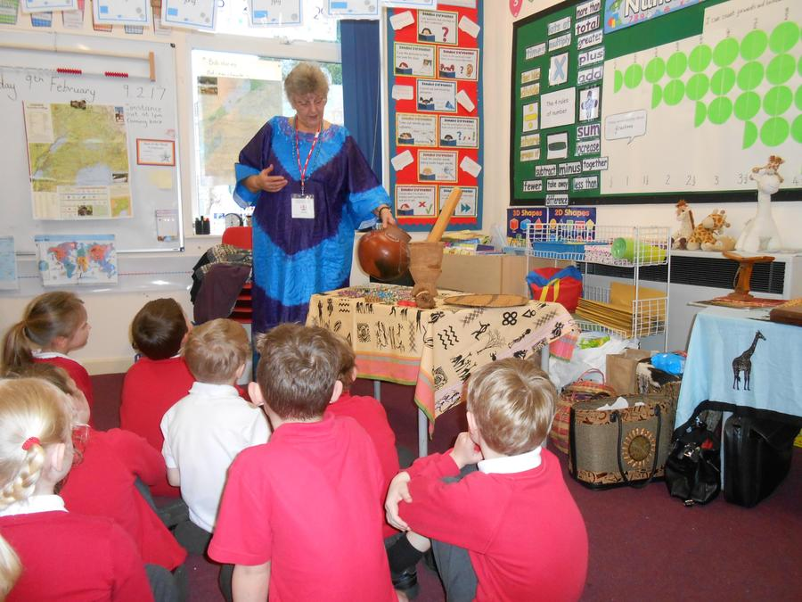 Miss Swarbrick tells us about Uganda