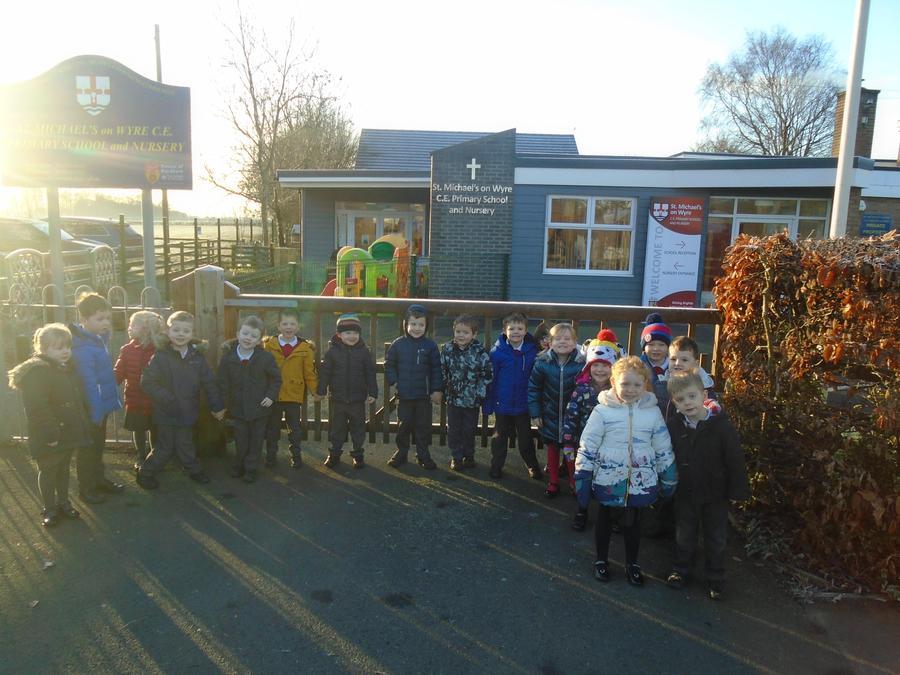 Oak Class find out who helps in school