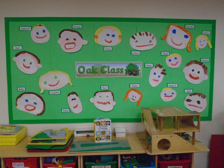 Oak class portraits