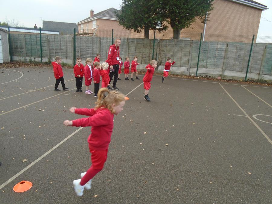 Multi-skills with Fleetwood Town FC