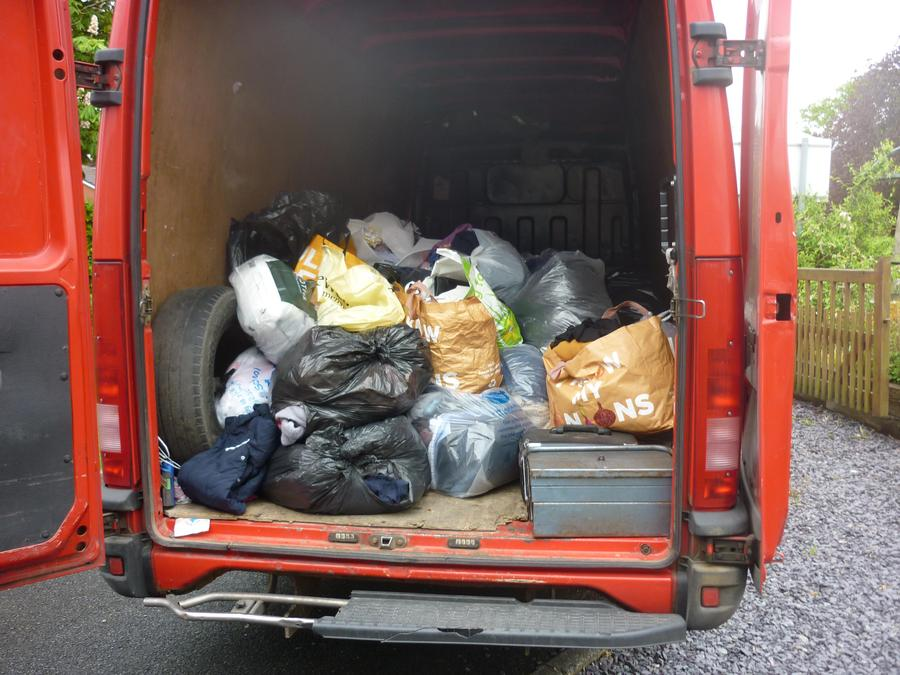We collected 70kg and raised £28 for School funds.